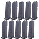 GLOCK Model 19 9mm 15 Rd Magazine 10 Pack - $249.99
