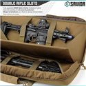 "Savior Eq American Classic Tactical Double SBR Gun Case 24"" 28"" 32"" (Dark M81, Black, FDE Gray, OD Green) from $49.99 (Free S/H over $25)"