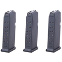 Glock Model 19 9mm 15 Rd Magazines 3-Pack - $79.99
