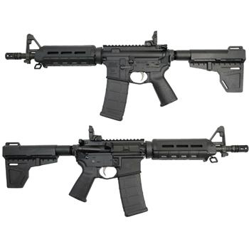 "PSA 10.5"" 5.56 NATO 1/7 Nitride MOE EPT Shockwave Pistol with MBUS Rear, Black - $759.99"