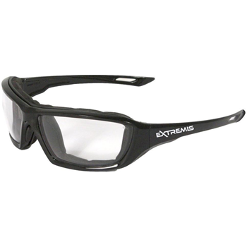 Radians XT1-11 Extremis Full Black Frame Safety Glasses with Clear Anti-Fog Lens - $5.29 (Free S/H over $25)