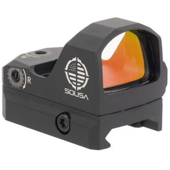 SOUSA Optics RAID Pistol Red Dot Sight 6 MOA - $119.99